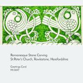 CARVING AT ROWLESTONE CHURCH