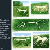 White Horses, Salisbury Plain