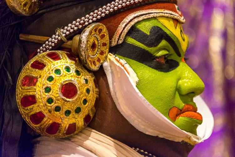 KEITH WOOD PHOTOGRAPHY: Kathakali Dance Troupe