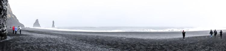 Basalt Beach, Vik