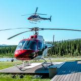 Helicopter for Glacier Landing