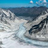 Glacier in Alaska Range