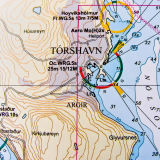 Tørshavn Chart: Færo Islands
