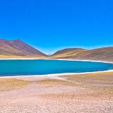Minique Antiplanic Lagoon: Atacama Desert