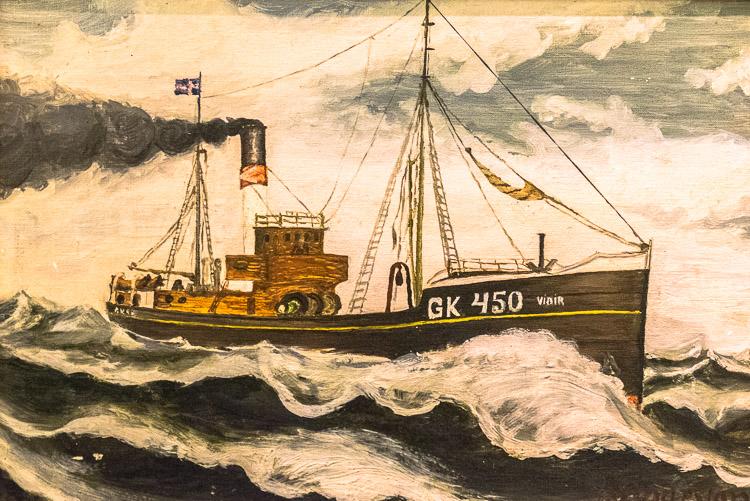 Trawler: Skógar Folk Museum