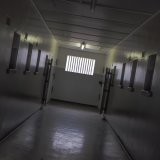Interior Hallway of Maximum Security Prison