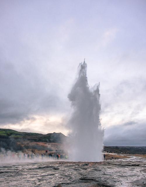 Geysir Eruption