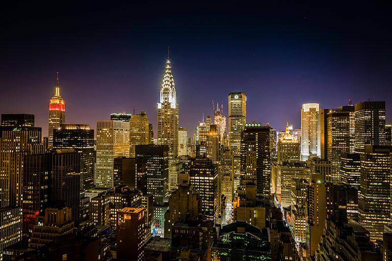 Midtown New York at Night