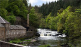 The Clyde at New Lanark #1