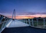 Sunset Over Diglis Bridge