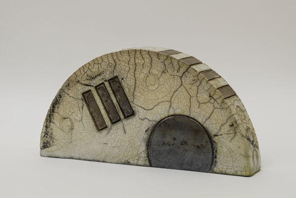sunset<br>raku fired stoneware, height 107mm