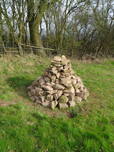 1st practice cairn April 5th