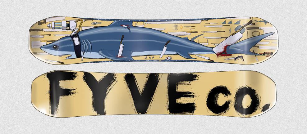 KENJI x FYVE Shark