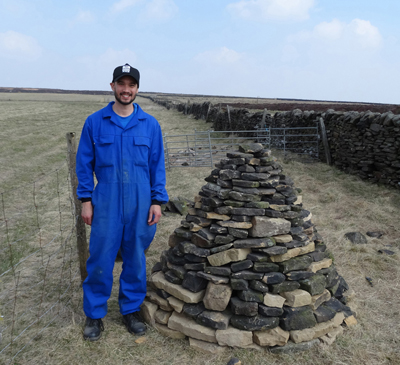 Peak District cairn (2nd practice) 9th April