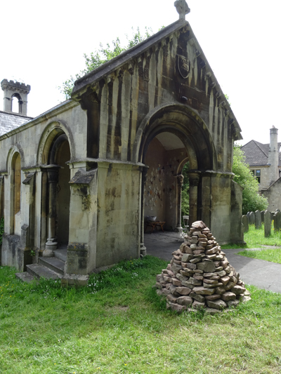 Stone, Air, and the Rest installed at Walcot chapel, Bath
