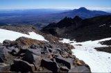 Mt Ngauruhoe from Crator Lake walk