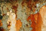 peeling paint and rust on mudguard