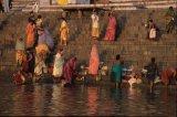 morning prayer on Varanasi