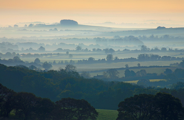 Misty view towards Martin