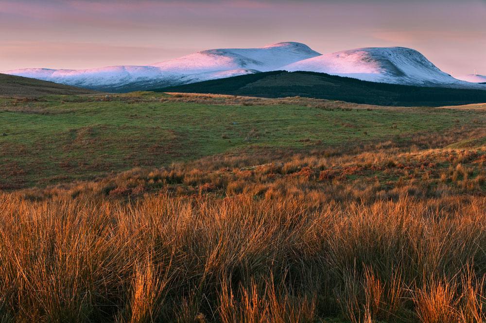 Cairnsmore of Carsphairn last light