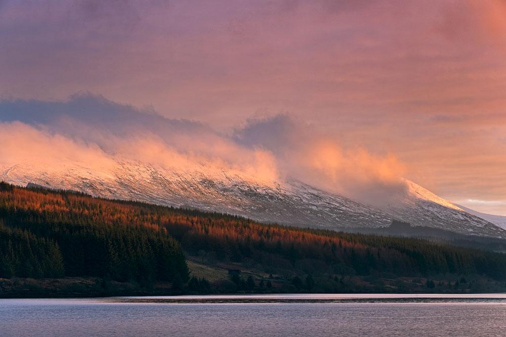 Last Light Loch Doon