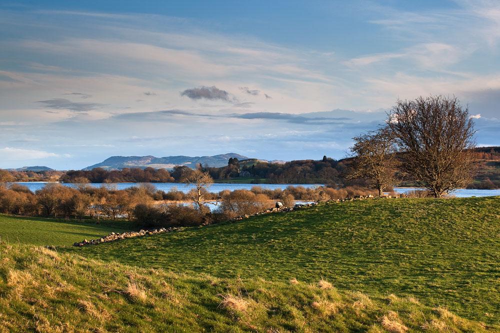 Evening Sun over Loch Ken and Bengairn