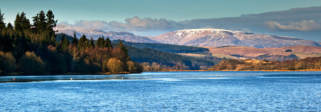 The Rhinns of Kells across Loch Ken