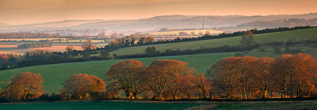 Salisbury-from-Croucheston-Down