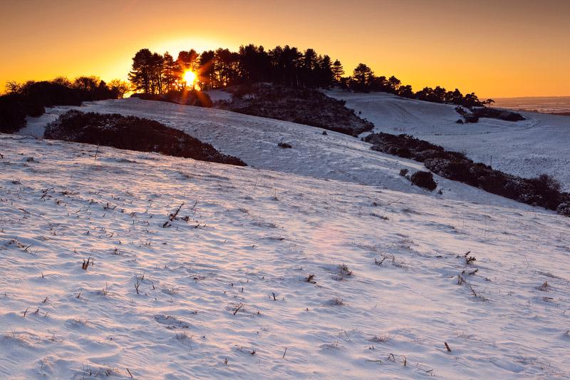 Sunset Penbury Knoll
