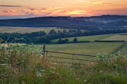 Sunset Swallowcliffe Down