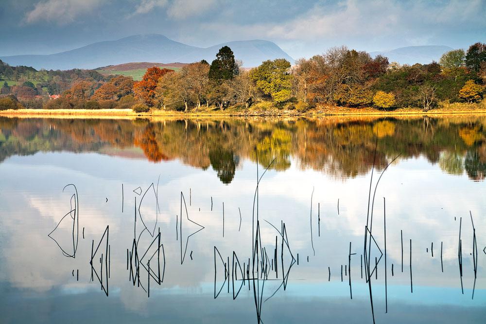 View across Loch Ken