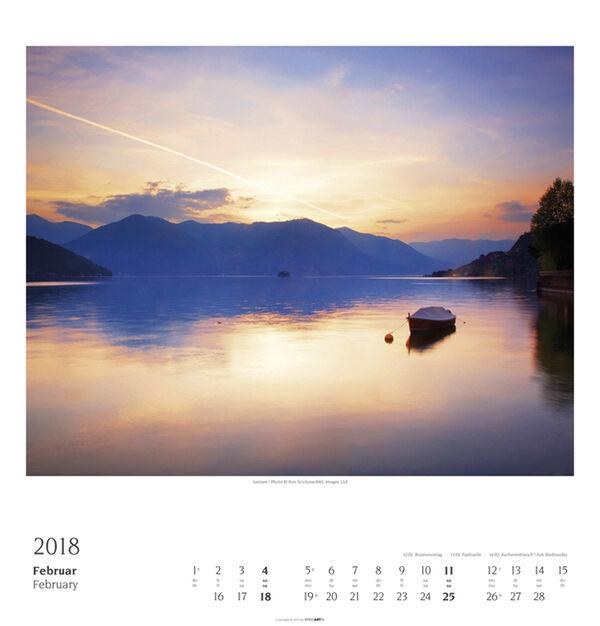 Italian Lakes - Weingarten Kalender
