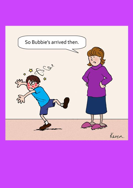 Blank - Bubbie arrives