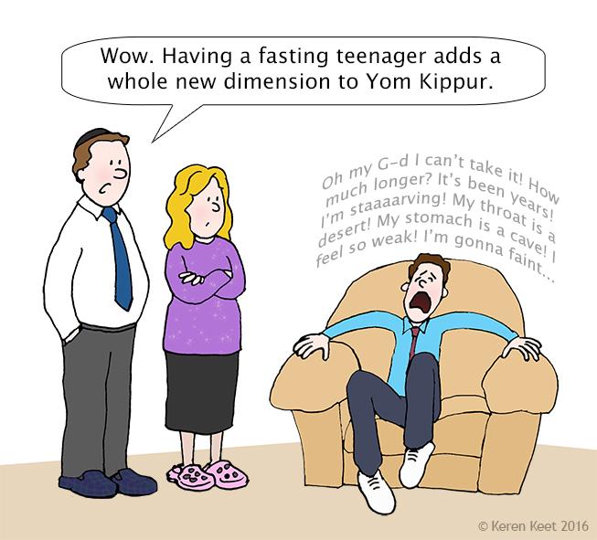 Fasting Teenager