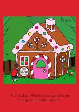Blank - Gingerbread House
