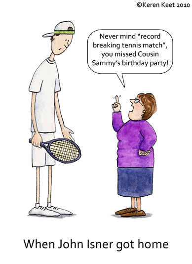 Record Breaking Tennis Match