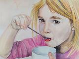 Miriam in Watercolour