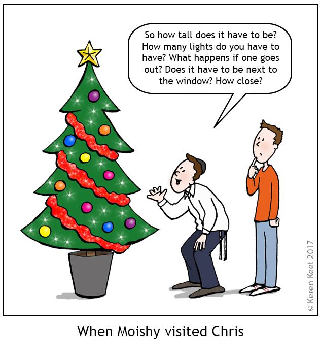 Moishy and the Xmas Tree