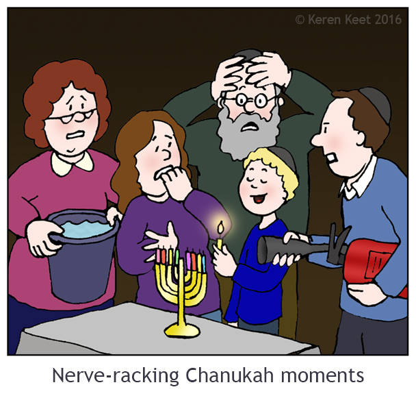 Nerve-racking Chanukah