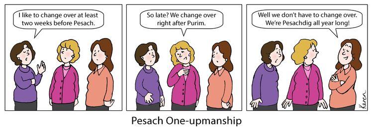 Pesach one-upmanship