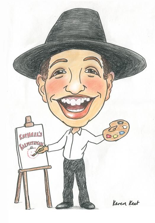 Bar mitzvah Caricature