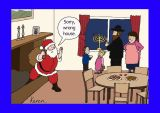 Chanukah - Santa wrong address