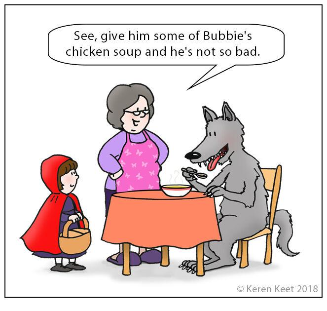 Big Bad Wolf v Bubbie