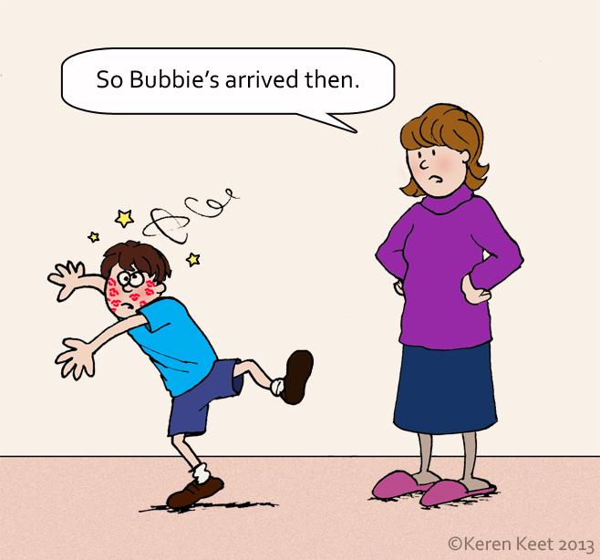 Bubbie Arrives