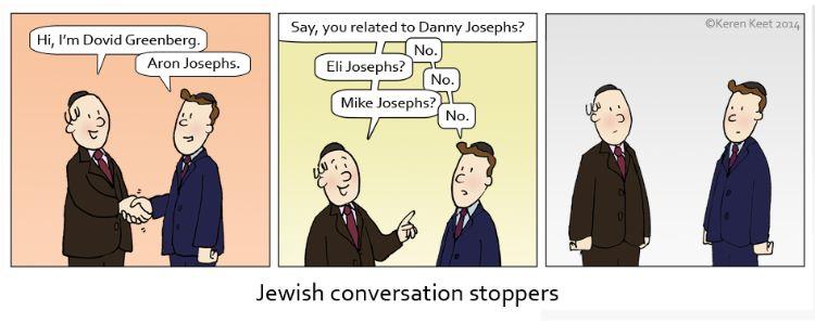 Jewish Conversation Stoppers