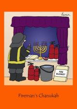 Chanukah - Fireman's Chanukah
