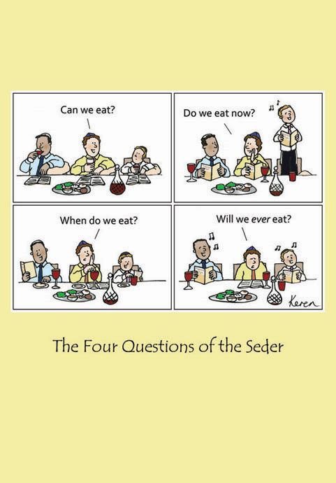 Pesach - Four Questions