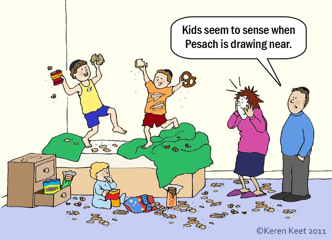 Pesach Preparations