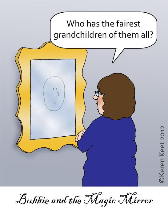 Bubbie and the Magic Mirror