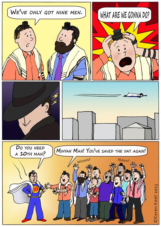Minyan Man